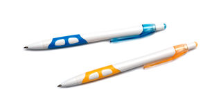 Two pens Stock Images