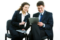 Two people Stock Photography