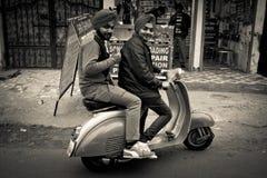 Two People of Amritsar, Punjab, India Royalty Free Stock Images