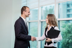 Two People Discussing Business Issue close up,Businesspeople hav. Ing an argument in an office,Business People Meeting Conference Discussion Corporate Concept Royalty Free Stock Photos