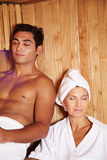 Two people in spa Stock Image