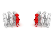 Two people teams business meeting Royalty Free Stock Image