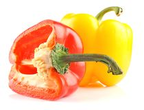 Two pepper Royalty Free Stock Images