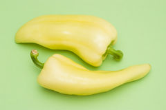 Two peppers Royalty Free Stock Photography