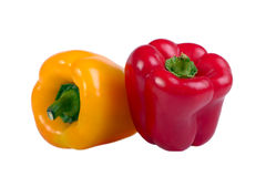 Two peppers Stock Photography