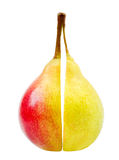 Two perfect wet pears Royalty Free Stock Images