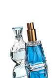 Two perfume bottles Royalty Free Stock Photography