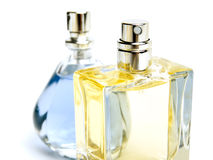 Two perfumes Stock Photo
