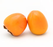 Two persimmon Stock Images
