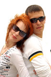 Two person. Love royalty free stock image