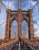 Two Person Walking on Bridge during Daytime Stock Image