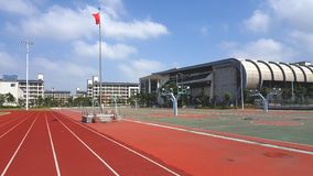 Gymnasium of Vocational College stock photography