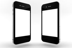 Two phones  Royalty Free Stock Photos