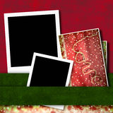 Two photo frame love background Royalty Free Stock Images
