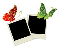 Two photo frames Stock Photography