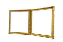 Two photo frames Royalty Free Stock Images