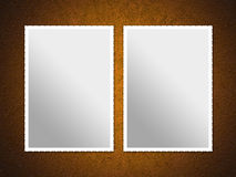 Two Photo Frames Royalty Free Stock Photography