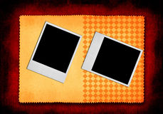 Two photo frames Royalty Free Stock Photo