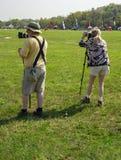 Two Photographer Stock Image