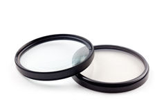 Two photographic filters Royalty Free Stock Image