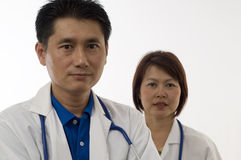 Two Physicians Stock Images