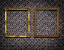 Two picture frame on the wall Royalty Free Stock Image