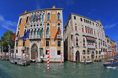 Two picturesque Venetian palace Royalty Free Stock Photo