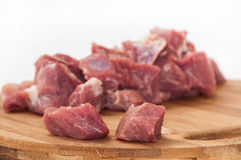 Free Two Pieces Of Meat In Focus Ahead Of The Crowd In The Background Stock Photography - 51758432