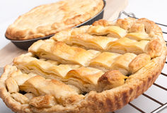 Two pies Stock Image