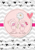 Two Pigs Royalty Free Stock Images