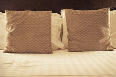 Two pillows Royalty Free Stock Photography