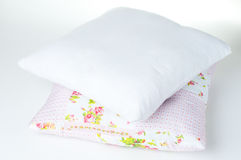 Two pillows on a white background Stock Image