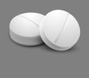 Two pills Royalty Free Stock Photo
