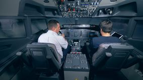 Simulator For Training Pilots Of The Aircraft Professional