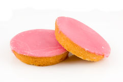 Two pink cakes Royalty Free Stock Image