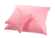 Two pink pillows Royalty Free Stock Images