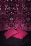 Two pink pillows Royalty Free Stock Photo