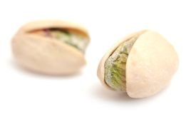 Two pistachio Stock Photos