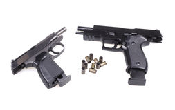 Two pistols. Royalty Free Stock Image