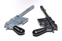Two Pistols Stock Photo