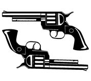 Two pistols Stock Photography