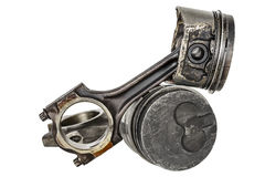 Two pistons and connecting rods Royalty Free Stock Images