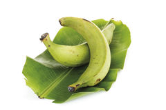 Two plantains, close-up Stock Photo