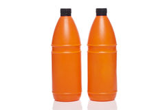 Two plastic bottle Stock Photography