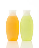 Two plastic bottles Royalty Free Stock Image
