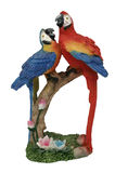 Two plastic parrots Royalty Free Stock Photography