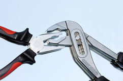 Two pliers Stock Images