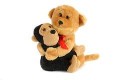 Two plushy toys Royalty Free Stock Photo