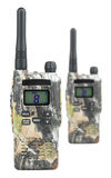 Two PMR radios Royalty Free Stock Image