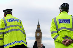 Two Police Officers In London Royalty Free Stock Images